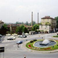 Piazza Porta Po nel 1980, Кремона