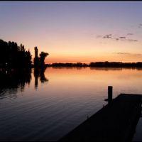 Mantova, la città dai mille tramonti - i tramonti più belli di sempre...Pontile Lago Superiore, Мантуя