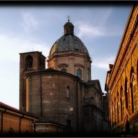Mantova -- Chiesa di S. Barnaba ------------ UNESCO World Heritage ----------------------------     dedication to Inka Cze, Мантуя