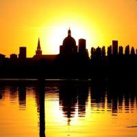 Mantova, la città dai mille tramonti - Tramonti ad alta definizione...Evviva la Canon..., Мантуя