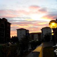 Mantova, la città dai mille tramonti - Tramonto a Colle Aperto., Мантуя