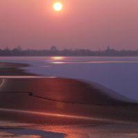 Mantova, la città dai mille tramonti - Immagine darchivio, linverno più rigoroso che abbia mai visto a Mantova., Мантуя