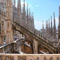 Detalls del Duomo de Milán, Милан