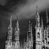 Milano, il Duomo - Milan, la Catedral, Милан