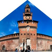 Main Gate of Castello Sforzesco, Milan  {Contest Octomber 10} by makis_rom2010, Милан
