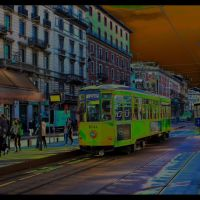 La fermata del tram in Cadorna{Contest November 10} by makis_rom, Милан