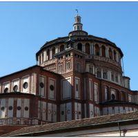 #73 Church of Santa Maria delle Grazie-Milan, Милан