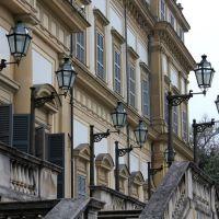 Monza - Villa Reale - posteriore - ex lampioni a gas, Монца