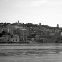 Ancona: the city seen leaving the port, Анкона