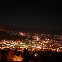 Alcamo vista da Monte Bonifato notte, Алькамо