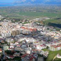 Alcamo - panorama zona nord-est città, Алькамо