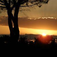 tramonto in superstrada, Витториа