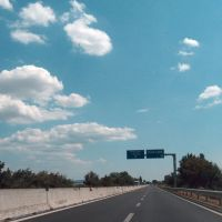 E45, near Selci, Italia, 13-08-2012., Гела