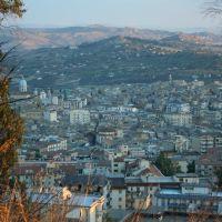 Caltanissetta vista da monte San Giuliano, Калтаниссетта
