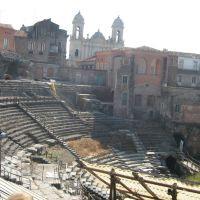 Teatro Romano, maggio 08, Катания
