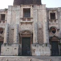 Facade of the Basilica di San Nicola lArena in Catania, Катания