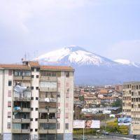 Etna vista dalla via Ustica San Nullo catania (19-04-2007), Катания