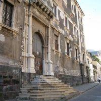 Catania da restaurare: il Regio Ospizio di Beneficenza. Its necessary a restoration., Катания