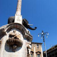 fontana dellelefante - catania, Катания