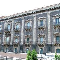 Catania - Monastero dei Benedettini sede della Facoltà di Lettere dellUniversità di Catania, Катания