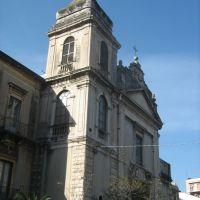 S. Nicolò al Borgo, fine Settecento, Катания