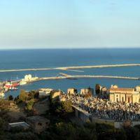 Panoramica del porto di Licata, Ликата