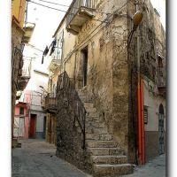 cortile in via Galliani- Borgo Marina, Ликата
