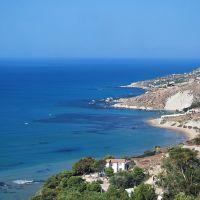 Sicilia - Licata - La costa da Marianello, Ликата