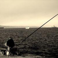 Il pescatore - IL MIO BLOG: http://marcocrupifoto.blogspot.com/, Мессина