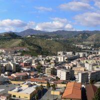 La valle Camaro da Montepiselli, Messina, Мессина