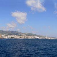 Panorama di Messina dal porto, Мессина