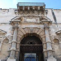 Monte di Pietà (XVII sec.), particolare del portale ingresso, Мессина