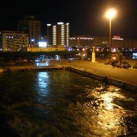 Palermo, il porto, partenza serale con la nave, Палермо