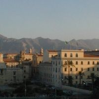 coucher de soleil à Palerme, un soir de canicule, juillet 2003, Палермо