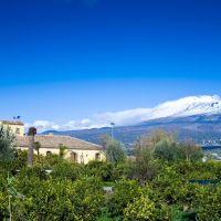 Etna panorama Dal casale del Etna, Патерно