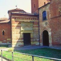 Baptistère roman XIIé battistero romanico, Асти