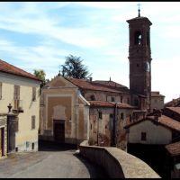"""Chiesa e tetti """" rurali """", Биелла"""