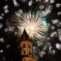 Fireworks over St.Andrews Church - 03, Верцелли