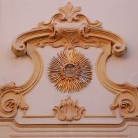 San Bernardinos Church - façade (detail), Верцелли