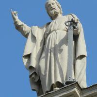 Statua sul duomo, Верцелли