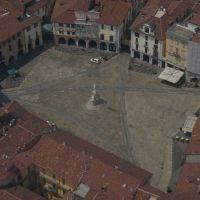 Piazza Cavour - aerial shot, Верцелли