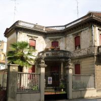 Old beautifull house, Новара