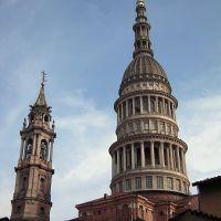 Cupola e Campanile di San Gaudenzio da via Antonelli, Новара