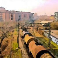 Novara - Immagini pittoriche del quartiere SantAgabio (05), Новара