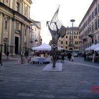 Novara piazza Antonio Gramisci, Новара