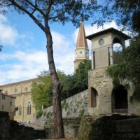Arezzo, scorcio del duomo, Ареццо