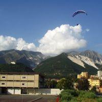 PG landing Carrara, Каррара