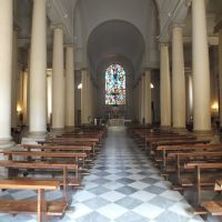 Poggibonsi - Interno della chiesa di S.Maria Assunta - 20-7-2014, Лючча