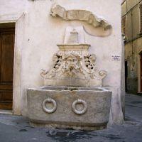 Borgo del Ponte: la fontana, Масса