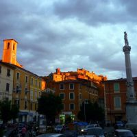 Massa, Piazza Mercurio, Масса